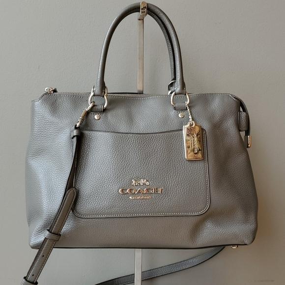 Coach Handbags - Coach F31467 Emma Heather Gray Satchel
